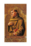 Cagli Polyptych, St. Anthony of Padua Prints by l'Alunno di Liberatore