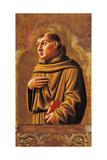 Cagli Polyptych, St. Anthony of Padua Prints by l'Alunno di Liberatore
