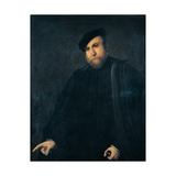 Portrait of a Man Giclee Print by Lotto Lorenzo