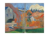 Landscape in Brittany The David Mill Giclee Print by Paul Gauguin