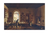 Kitchen of Palazzo Mozzi, Antonio Digerini, 1825. Private Collection, Rome, Italy Posters by Antonio Digerini