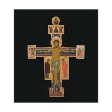 Crucifix Plakat af Bigallo Master