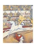 Circus Premium giclée print van Georges Seurat