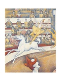 Circo Arte por Georges Seurat