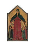 Our Lady of Mercy Prints by Segna di Segna di