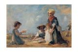 Widow's Son, 1886. Italy Láminas por Demetrio Cosola