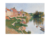Andelys Poster by Paul Signac