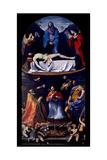 Lament over the Body of Christ (Pieta dei Mendicanti) Poster by Guido Reni