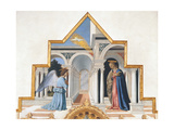 Polyptych of St. Anthony, by Piero della Francesca, 1478-85. National Gallery of Umbria, Perugia Giclee Print by Piero Della Francesca