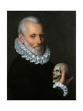 Fede Galizia - Portrait of a Doctor (probably Ludovico Settala) Umění