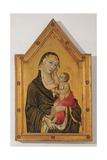 Madonna of Montelabate Posters by Leo, da Siena