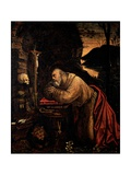 St. Jerome Prints by Defendente Ferrari
