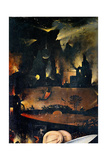 Garden of Earthly Delights-Hell Music Posters por Hieronymus Bosch