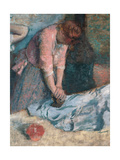 Women Ironing Prints by Edgar Degas