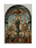 Legend of St. Ursula. Apotheosis of St. Ursula Prints by Vittore Carpaccio