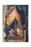 Legend of the Cross, Dream of Constantine Prints by  Piero della Francesca