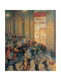 Fight in the Arcade Prints by Umberto Boccioni
