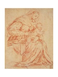 Enthroned Madonna and Child Prints by  Bassano