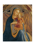 Madonna and Child with Sts. John, Dominic, Francis, Paul Print by  Beato Angelico