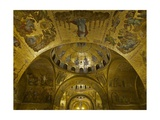 St. Mark's Basilica, view of Interior. St. Mark's Basilica, Venice. 10th c.   Italy Prints