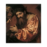 Christ the Cross bearer Póster por Romanino Romani