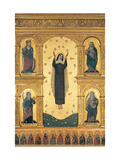 Polyptych, Ascension with Saints Print