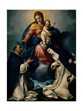 Our Lady of the Rosary Posters by Carlo Ceresa