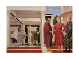 Flagellation of Christ Print by  Piero della Francesca
