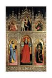 Polyptych of St Jerome Kunstdruck von Antonio Vivarini