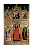 Polyptych of St Jerome Poster by Antonio Vivarini