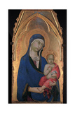 Madonna and Child Prints by Simone Martini