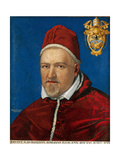 Pope V Borghese Print by Marcello Provenzale