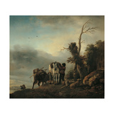 Landscape with Figures Posters by Philips Wouwermans