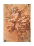 Flying angel with Monstrance Posters by Camillo Procaccini