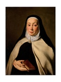 Portrait of a Nun Plakater af Carlo Cignani