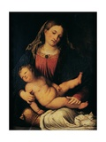 Madonna and Child Prints by Romanino Romani