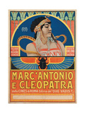 Antony and Cleopatra (1913) Posters by Roberto Franzoni
