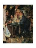 Under the Trees of the Moulin de la Galette Posters by Pierre-Auguste Renoir