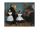 Bellelli Family Art by Edgar Degas