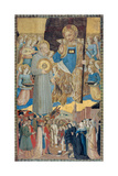 Banner of St. Bernardine of Siena Prints by Benedetto Bonfigli