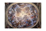 Glory of St. Gaudentius, Carlo Bartolomeo Borsetti, 1746. Vercelli, Italy Prints by Carlo Bartolomeo Borsetti