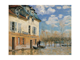 Pedestrian Bridge in Argenteuil Posters by Alfred Sisley