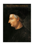 Niccol Machiavelli Giclee Print by Cristofano Dell'altissimo