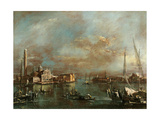 Bacino di San Marco with San Giorgio and the Giudecca Posters by Francesco Guardi