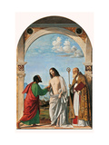 Incredulity of St. Thomas with Bishop Magno Print by Cima da Conegliano