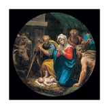 Mysteries of the Rosary, The Nativity Prints by Vincenzo Campi