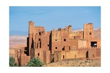 View of the fortified city of Ait Arbi, Morocco Print
