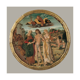Hercules at the Crossroads Prints by Girolamo di Benvenuto
