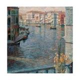 Grand Canal in Venice Posters av Umberto Boccioni