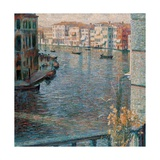 Grand Canal in Venice Print by Umberto Boccioni